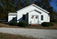 Iglesia del país Fotos de archivo