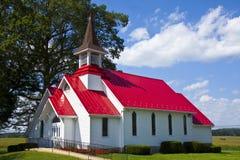 Iglesia del país Foto de archivo