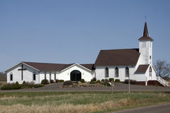 Iglesia del país Imagen de archivo