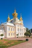 Iglesia del palacio Fotografía de archivo