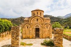 Iglesia del Panayiain Fodele. Creta Fotografía de archivo libre de regalías