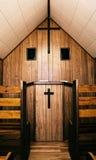 Iglesia del pequeño granjero Fotografía de archivo libre de regalías