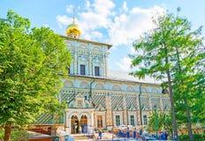 Iglesia del refectorio en St Sergius Trinity Lavra Imagen de archivo libre de regalías