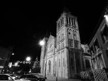 Iglesia del rochefort del pueblo, Bélgica fotografía de archivo libre de regalías