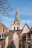 Iglesia del ` s de Gertrudis del santo en Lovaina, Bélgica Imágenes de archivo libres de regalías