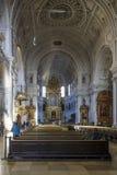 Iglesia del ` s de San Miguel en Munich, Alemania, 2015 Imágenes de archivo libres de regalías