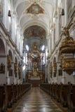 Iglesia del ` s de San Pedro en Munich, Alemania, 2015 Fotografía de archivo