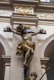 Iglesia del ` s de San Pedro en Munich, Alemania, 2015 Foto de archivo libre de regalías