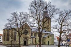Iglesia del ` s de San Pedro, Soest, Alemania foto de archivo libre de regalías