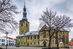 Iglesia del ` s de San Pedro, Soest, Alemania imagenes de archivo