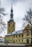 Iglesia del ` s de San Pedro, Soest, Alemania foto de archivo