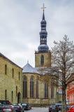 Iglesia del ` s de San Pedro, Soest, Alemania fotos de archivo