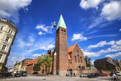 Iglesia del ` s de St Andrew, Copenhague fotografía de archivo