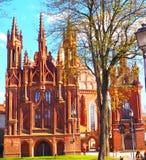 Iglesia del ` s de St Anne Fotos de archivo libres de regalías