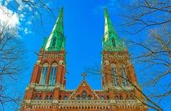 Iglesia del ` s de St John Helsinki, Finlandia fotografía de archivo