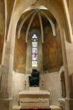 Iglesia del ` s de St Mark en Zagreb imagen de archivo