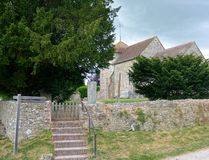 Iglesia del ` s de St Mary Sullington sussex Reino Unido fotos de archivo libres de regalías