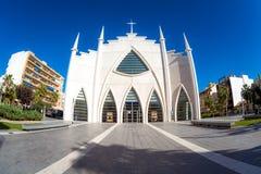 Iglesia del Sagrado Corazon de Ιησούς, Plaza de Oriente Torrevie Στοκ Φωτογραφίες