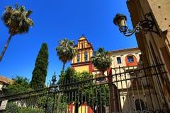 Iglesia del Sagrario, Histiric Building, Malaga, Spain Stock Photo