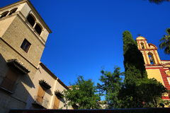 Iglesia del Sagrio, Histiric Building, Malaga, Spain Royalty Free Stock Image