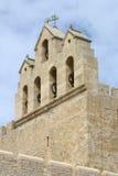 Iglesia del Saintes Maries de la Mer, Camargue, Francia Foto de archivo libre de regalías