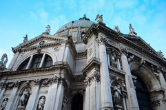 Iglesia del saludo del della de Santa María, Venecia, Italia Foto de archivo libre de regalías