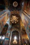 Iglesia del salvador en sangre Foto de archivo