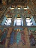 Iglesia del salvador en sangre dentro Imágenes de archivo libres de regalías