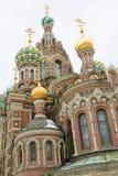 Iglesia del salvador en sangre derramada, St Petersburg, Rusia Fotos de archivo