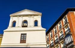 Iglesia del Santisimo Cristo de la Fe, a church in Madrid Royalty Free Stock Photo