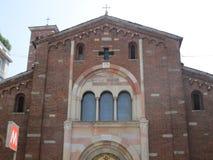 Iglesia del santo Babylas de Antioch Fotografía de archivo