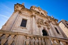 Iglesia del santo Blasius, Dubrovnik, Croatia Fotografía de archivo libre de regalías