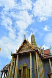 Iglesia del santo en Wat Phra Kaew Fotografía de archivo libre de regalías