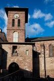Iglesia del Santo-Jean-De varios colores-de-Acceso Imágenes de archivo libres de regalías