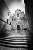 Iglesia del santo Lucia al Piano, Matera Italia Fotos de archivo