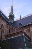 Iglesia del santo Ludmila en Praga Vistas y vistas de la República Checa Fotos de archivo libres de regalías
