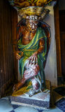 Iglesia del santo Mary Magdalene, demonio famoso Rennes le Chateau Francia Fotos de archivo