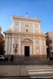 Iglesia del santo Mary Magdalene La Magdalena (Cerdeña - Italia) fotografía de archivo