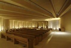 Iglesia del santo Pio de Pietrelcina fotografía de archivo