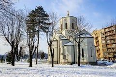Iglesia del santo Sava, Belgrado Serbia imagen de archivo libre de regalías