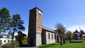 Iglesia del santo-waast-la-vallée, Francia imágenes de archivo libres de regalías