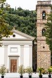 Iglesia del santuario del baño en Castiglione Fiorentino Fotos de archivo libres de regalías