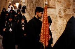 Iglesia del Sepulcher santo en la Jerusalén Israel Fotos de archivo libres de regalías