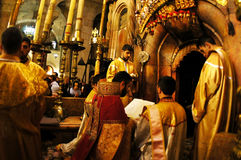 Iglesia del Sepulcher santo en la Jerusalén Israel Fotografía de archivo libre de regalías