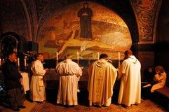 Iglesia del Sepulcher santo en la Jerusalén Israel Fotos de archivo