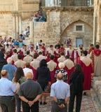 Iglesia del sepulcro santo en Jerusalén Fotografía de archivo