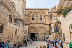 Iglesia del sepulcro santo, Jerusalén imagenes de archivo
