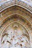 Iglesia del severin del St. en París - detalle Imágenes de archivo libres de regalías