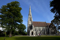 Iglesia del St. Alban, Copenhague Imagenes de archivo