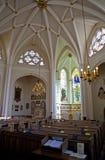 Iglesia del St Bartholomew-the-Less en Londres Imágenes de archivo libres de regalías